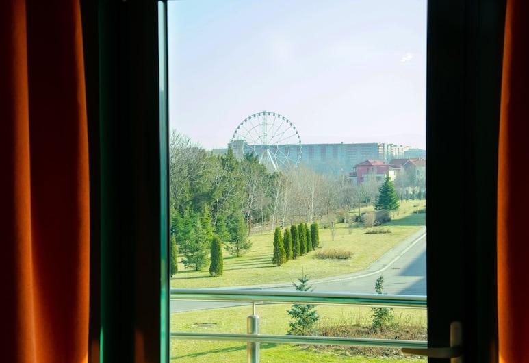 Complex Silva, Bucarest, Chambre Supérieure Double ou avec lits jumeaux, vue jardin, Vue depuis la chambre