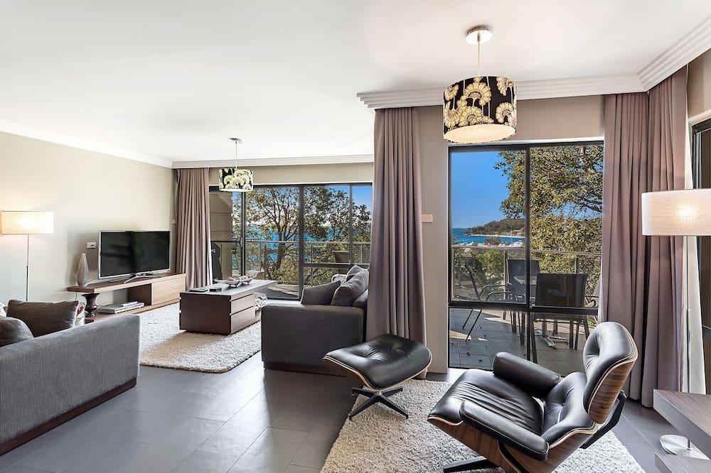 公寓, 多張床, 花園景 - 客廳