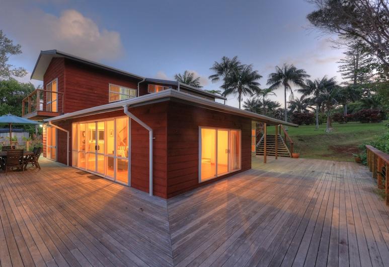 Ball Bay House, Île Norfolk, Maison Familiale, vue océan, Balcon