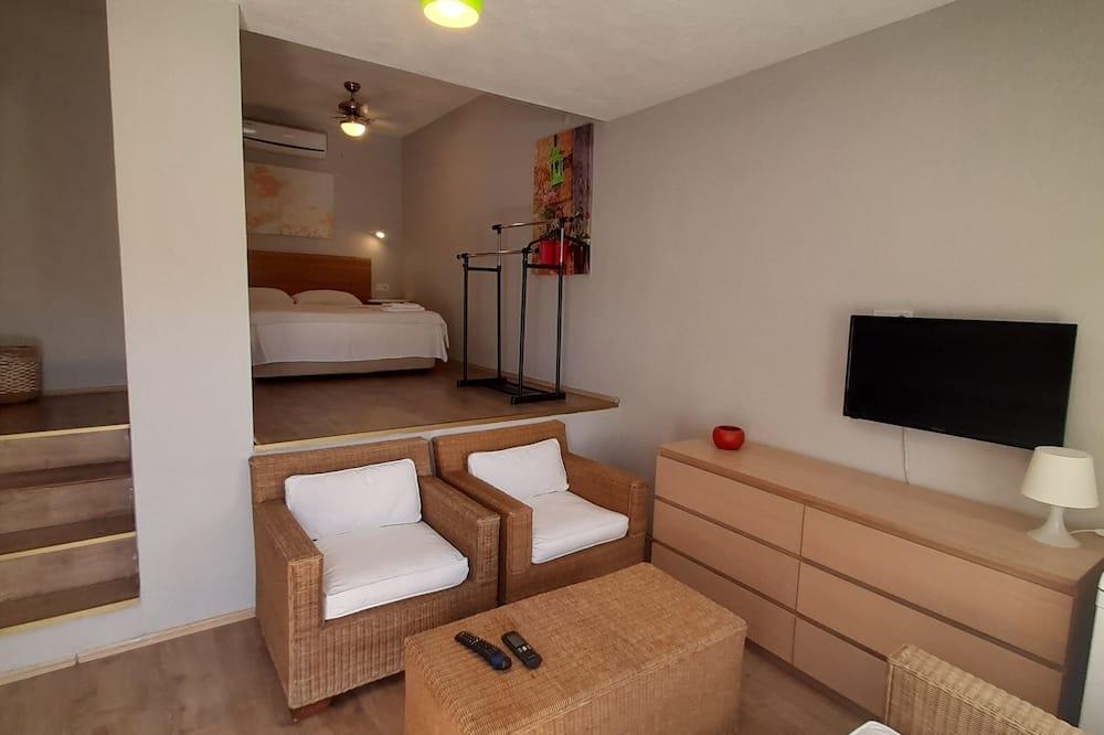 Dreibettzimmer - Wohnbereich