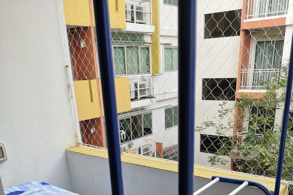 Liukso klasės apartamentai - Balkonas