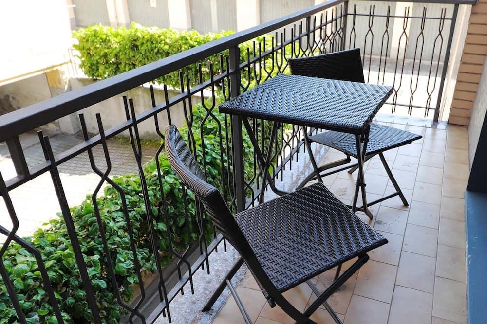 Apartamentai, 1 miegamasis (Floor 1) - Balkonas