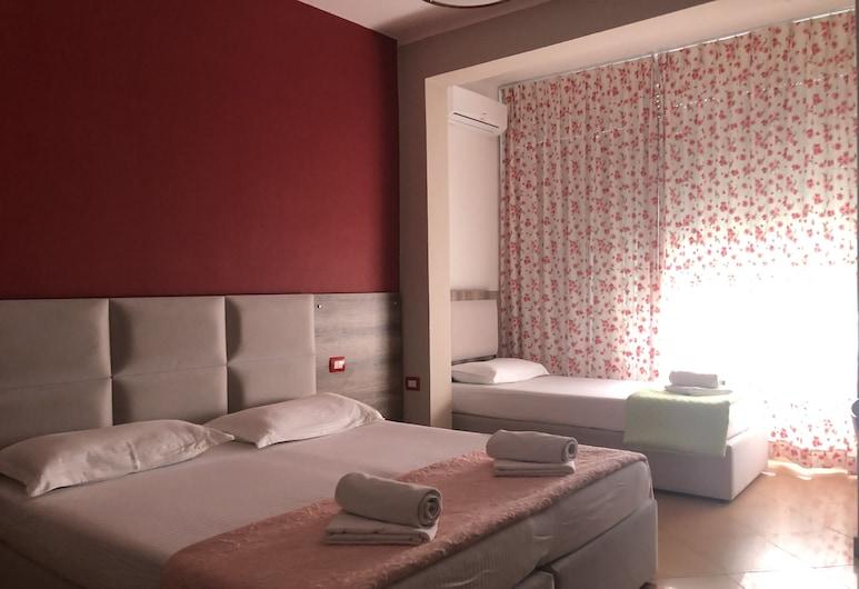 인 호텔, 두르레, 트리플룸, 바다 전망, 객실