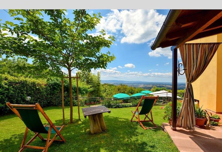Villetta nel Verde Holiday Home, Montaione, Giardino