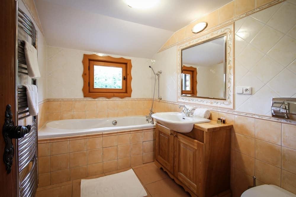 Dobbeltværelse - parkudsigt - Badeværelse