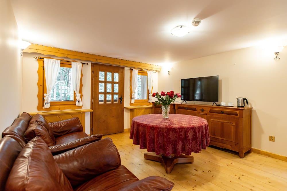 Comfort-suite - balkon - Stue