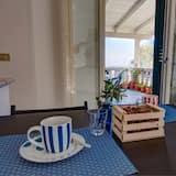 Villa, 4 hálószobával, terasz, kilátással a tengerre - Étkezés a szobában