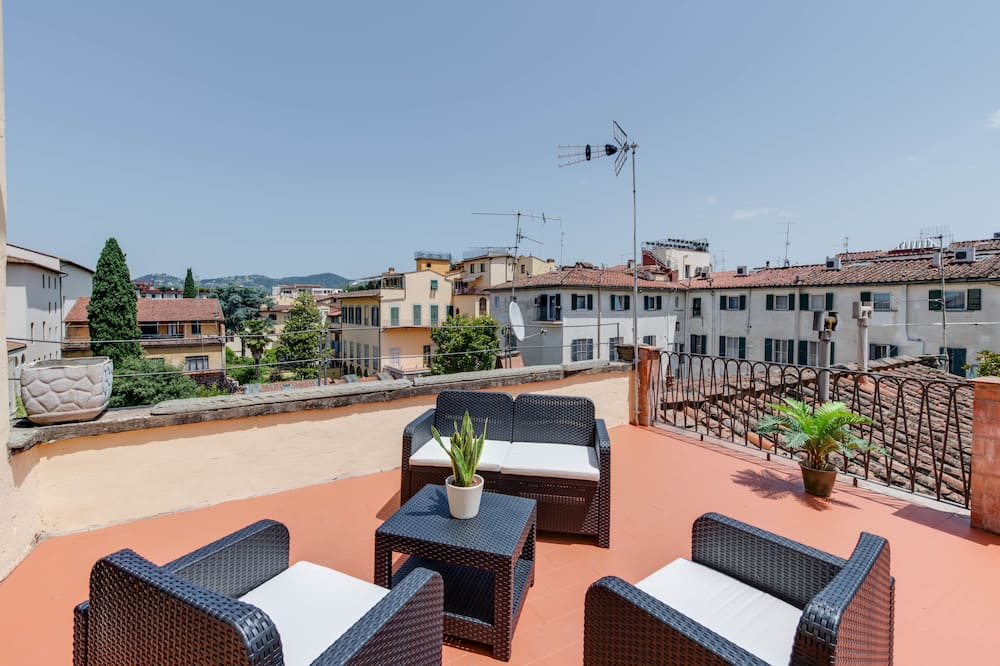 Deluxe-Zimmer, Mehrere Betten, Terrasse (Belvedere) - Terrasse/Patio