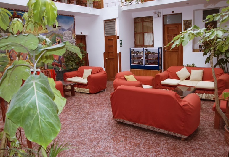 Hostal El Monarca, Cuzco, Lobby-Lounge