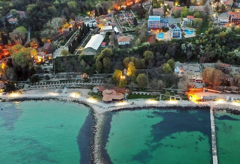 Iceberg Hotel, Balchik, Utsikt från luften