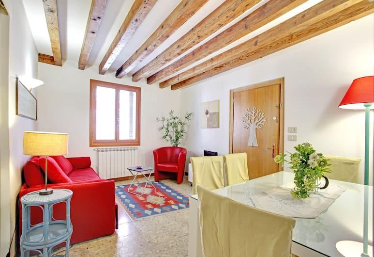 Grimaldi Apartments - Ca Bembo, Venezia, Appartamento, 1 camera da letto, Area soggiorno