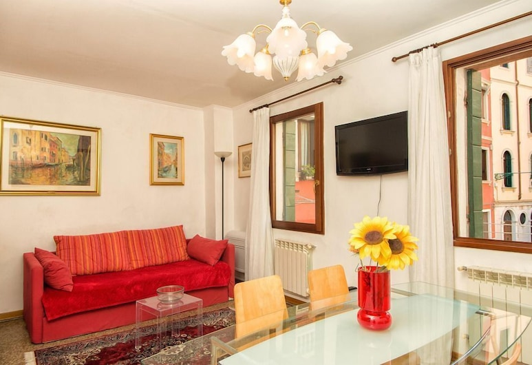 Grimaldi Apartments - Ca Stella, Venice, Apartment, 1 Schlafzimmer, Wohnbereich