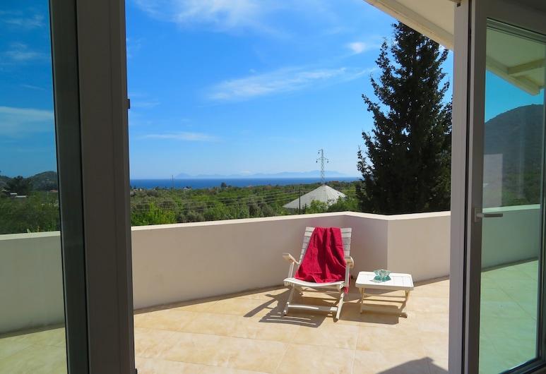 Villa White Apart, Datça, Elite Çatı Katı (Loft), Teras/Veranda