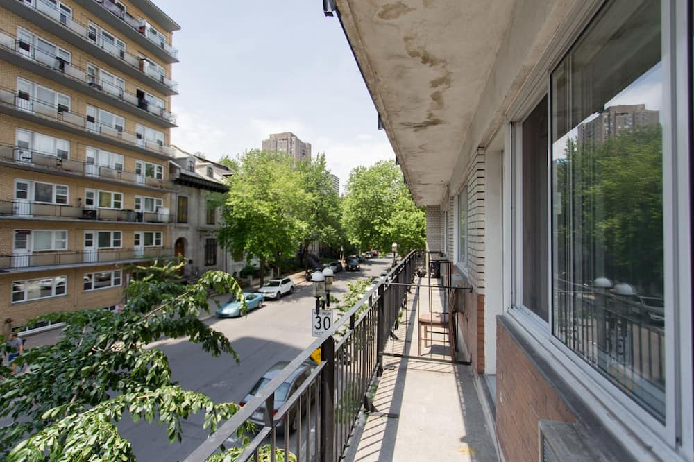 Estudio superior - Balcón