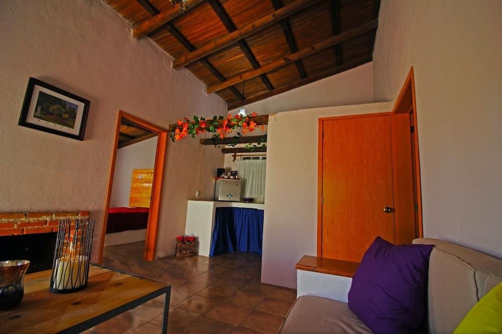 Bungalo, skats uz kalniem - Dzīvojamā zona