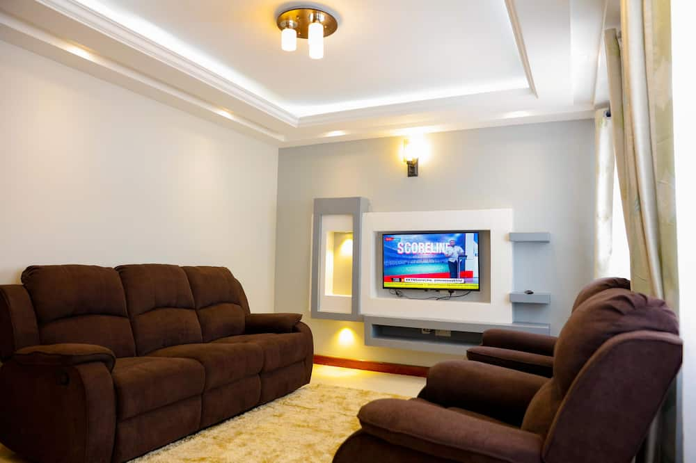 Appartement Supérieur - Salle de séjour