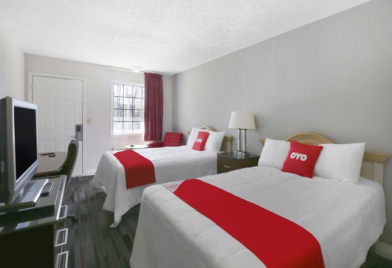 OYO Hotel Jackson South I-55, Jackson, Habitación, 2 camas dobles, para fumadores, Habitación