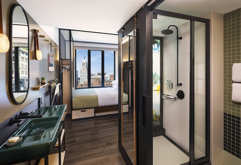 Moxy NYC East Village, New York, Room, 1 Queen Bed, Guest Room