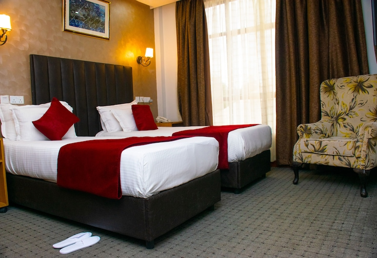 卡倫阿米莉亞酒店, 奈洛比, 雙床房, 客房