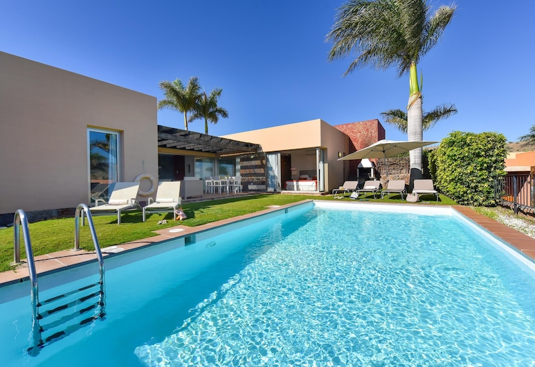 Par 4 Villa 7 Salobre Golf Villas - Holiday Rental Par4 - 7, San Bartolome de Tirajana, Pool