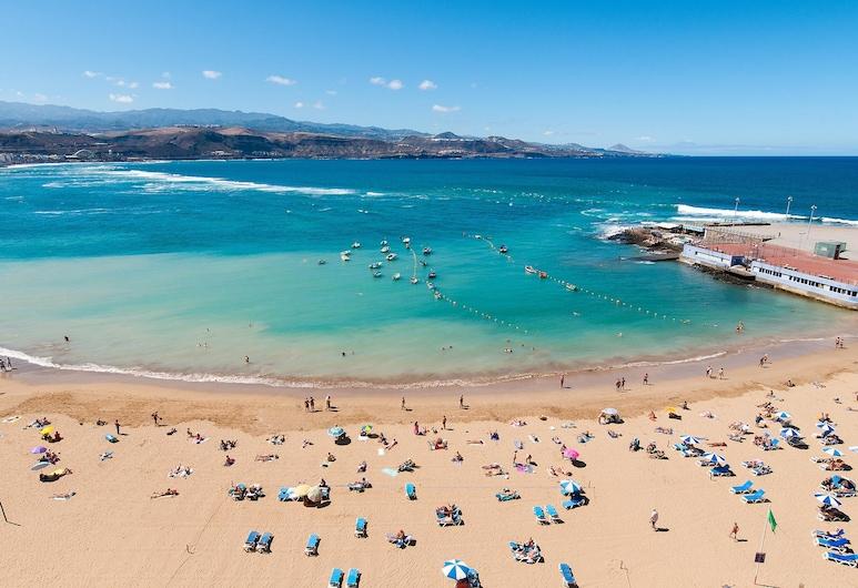 Neptuno City Beach Front Apartment, Las Palmas de Gran Canaria, Strand