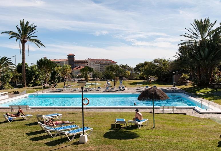 Bungalow for 6 in San Agustin Rocas Rojas, San Bartolome de Tirajana, Pool