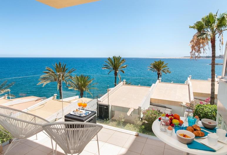 Las Flores Apartment With sea Views and Terrace in San Agustin, San Bartolome de Tirajana, Porch