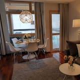 Appartamento Deluxe (with Sauna and Balcony) - Area soggiorno