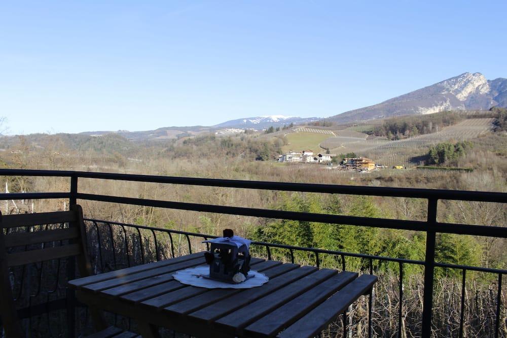 Familienhaus, 3Schlafzimmer, Küche, Bergblick - Balkon