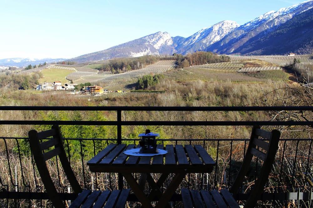 Familienhaus, 3Schlafzimmer, Küche, Bergblick - Blick vom Balkon