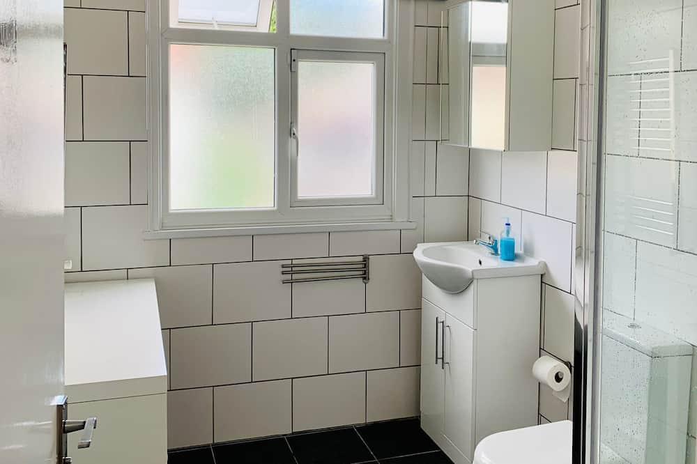 חדר דה-לוקס זוגי - חדר רחצה