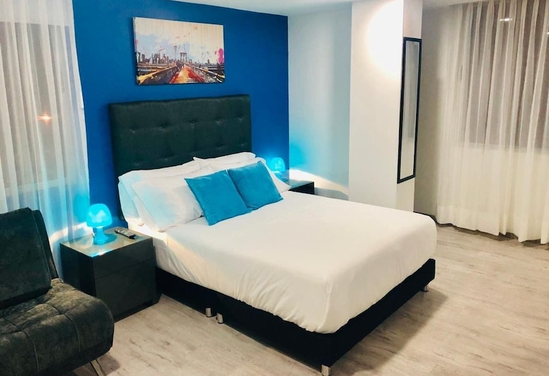 Apartaestudio Charles 52, Bogotá, Deluxe Studio, 1 Double Bed, Room