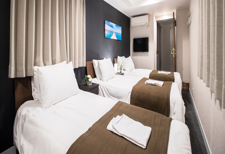 Hotel Cozy Taito Asakusa, Tokyo, Triple Room, Guest Room