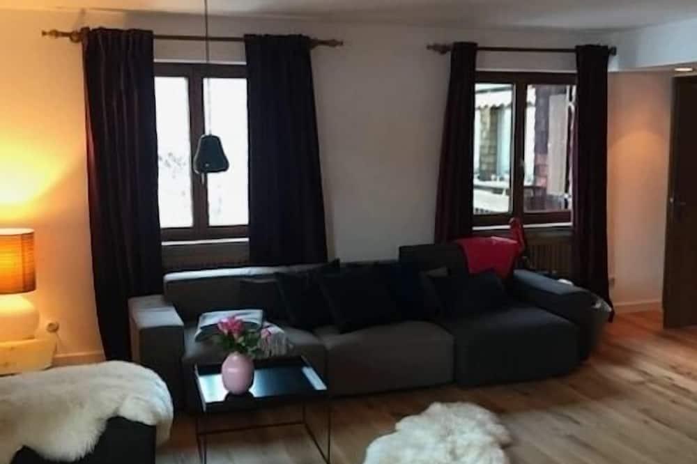 Condo, City View - Living Room