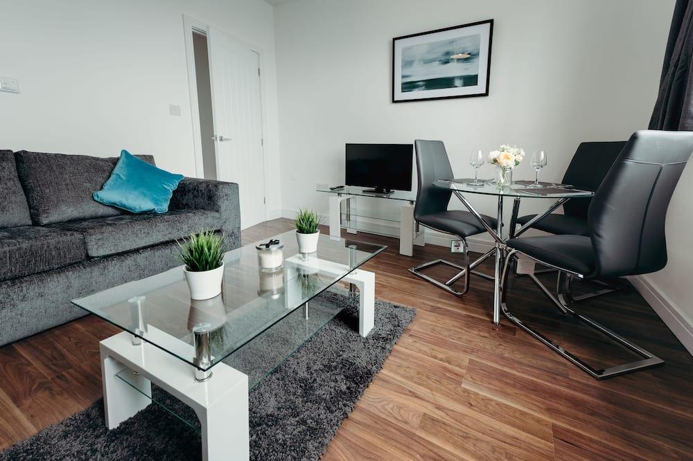Apartmán typu Deluxe, viacero postelí - Obývacie priestory