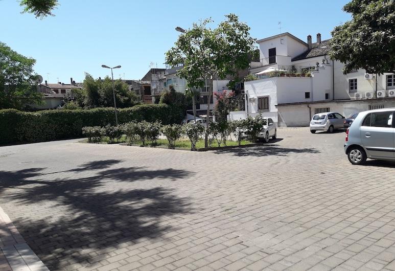 Hotel Jolly, Castrovillari, A szálláshely külső területe