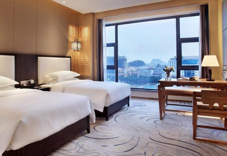 Guilin Gangshe Hotel Xiangshan Park, Guilin, Signature Twin Room, Guest Room