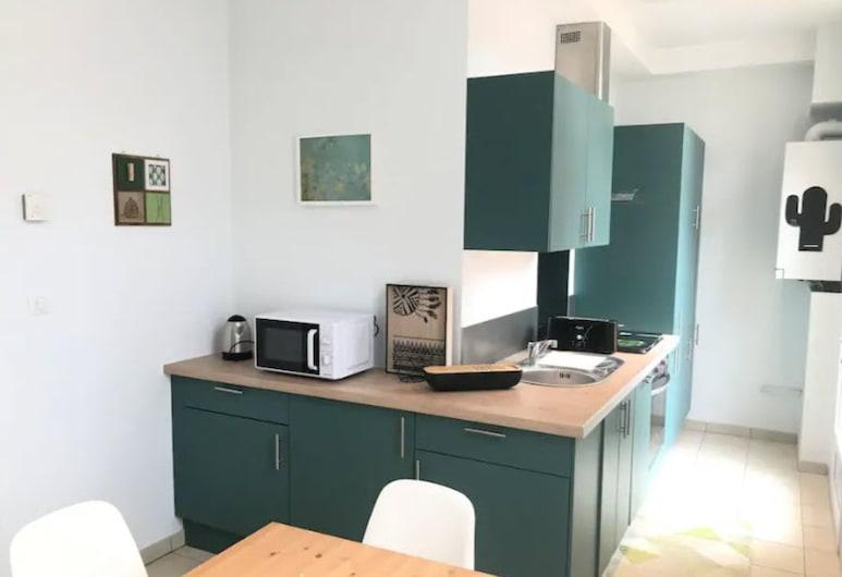 Suite Jean Jaures 64, Reims, Studio, Private kitchen