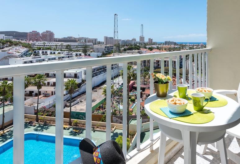 Y6E. Very Central Apartment, Las Americas View!, Arona, Departamento, 1 habitación, Terraza o patio