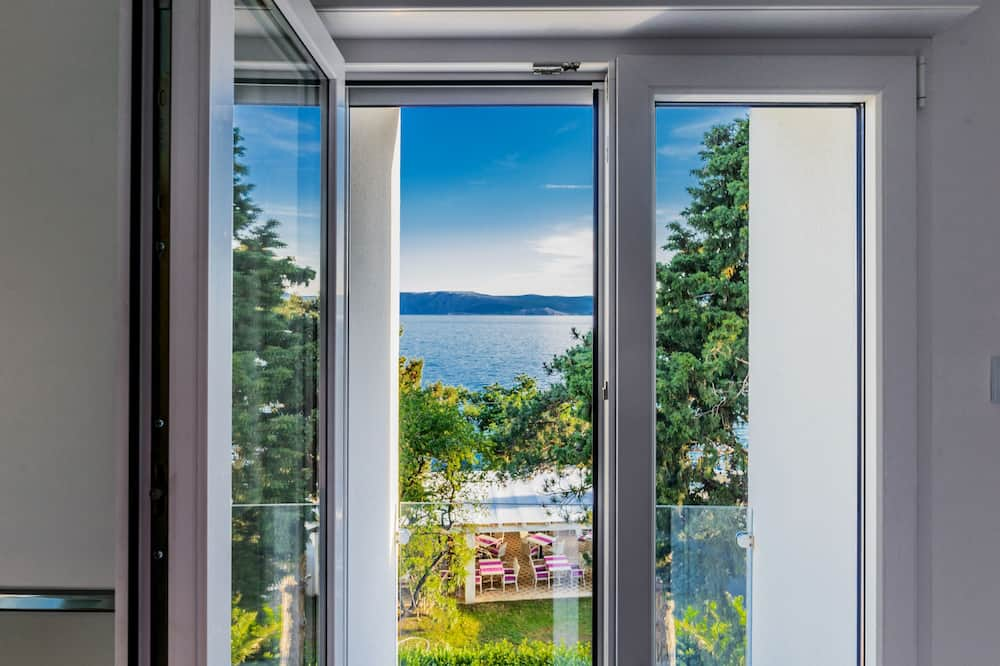 Deluxe dubbelrum - balkong - havsutsikt - Utsikt från gästrum