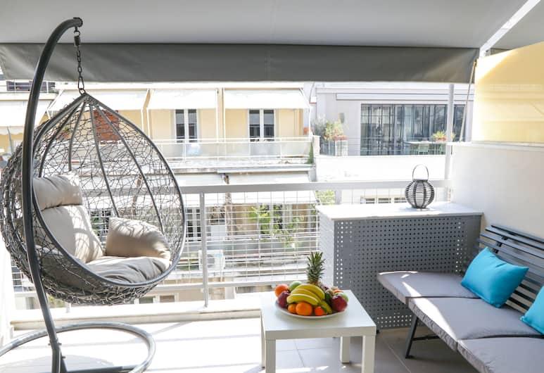 V36 Suites, Αθήνα, Σουίτα, Μπαλκόνι (Prestige), Μπαλκόνι