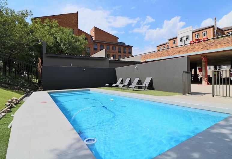 湖濱公寓酒店, 約翰尼斯堡, 泳池