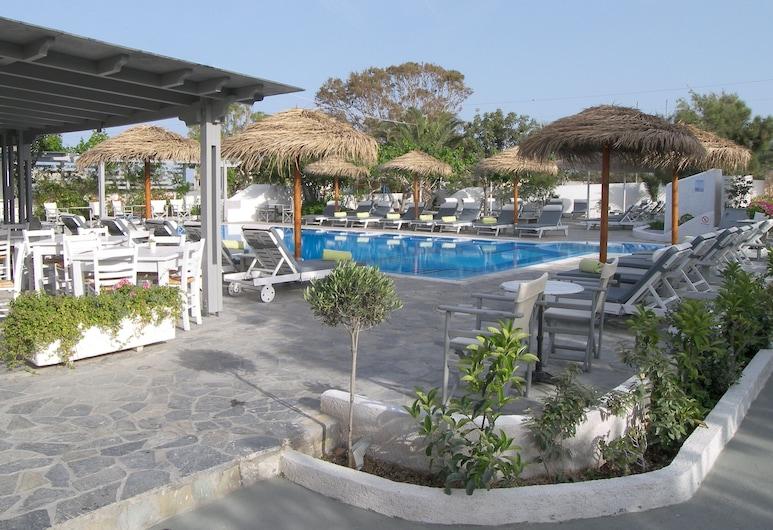 Alia Hotel, Santorini, Terras