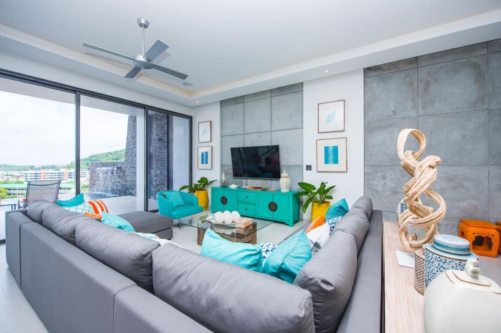 5-Bedroom Villa - Περιοχή καθιστικού