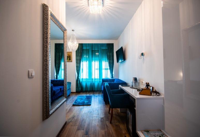 Center Luxury Rooms 1 , Split, Dobbeltrom – deluxe, privat bad (Room 2), Oppholdsområde