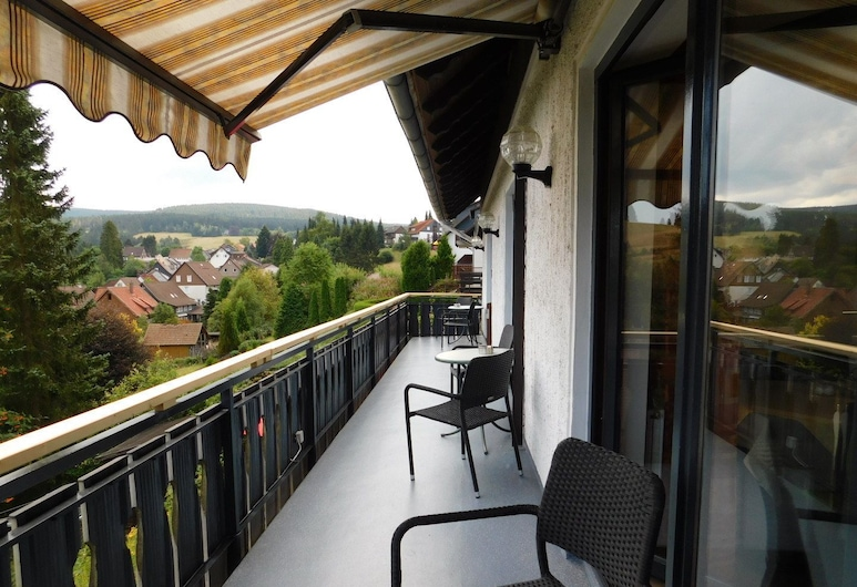 Haus Petra, Landkreis Goslar, Tweepersoonskamer, Balkon, Balkon