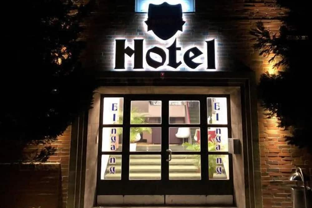 Entrée de l'hôtel