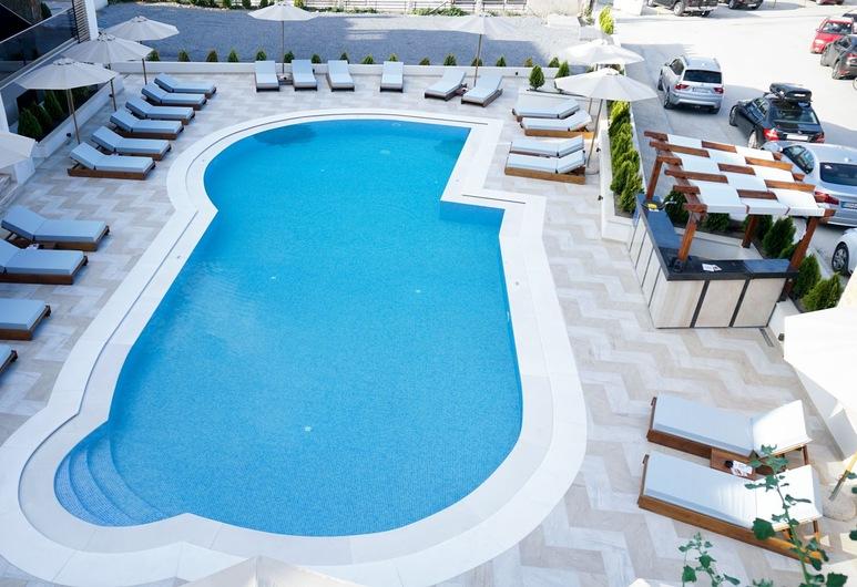 Agnes Deluxe Hotel, Κασσάνδρα, Εξωτερική πισίνα