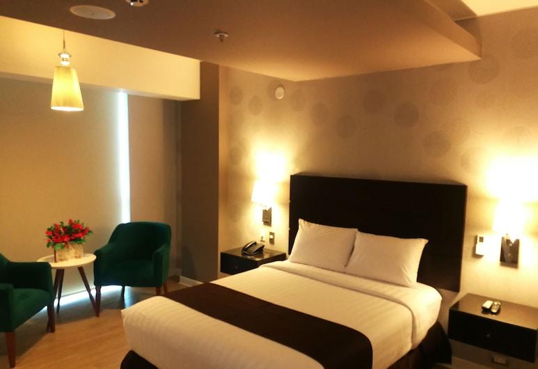 잉클란 호텔, 리마, 디럭스룸, 시내 전망, 객실