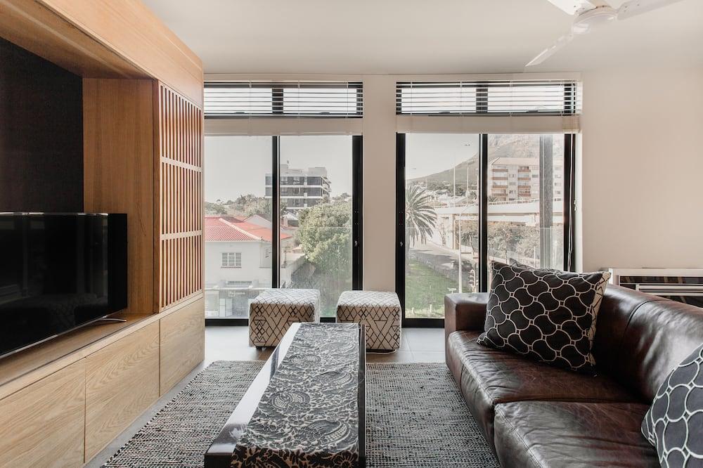 شقة تنفيذية - منطقة المعيشة